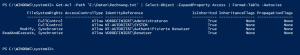 NTFS Berechtigungen einer Datei auslesen
