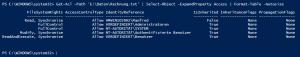 NTFS Berechtigungen einer Datei prüfen