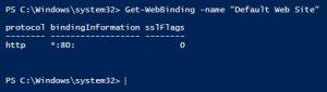 SSL Binding prüfen