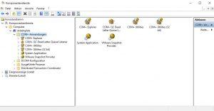 COM+ ab Windows Server 2016 wieder aktivieren