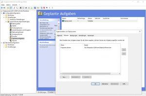 Software Deployment start batch