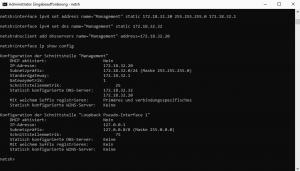 Ändern die IP und die des bevorzugten DNS-Servers.