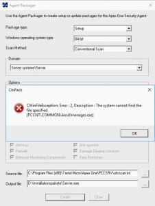 Apexone _invalid files