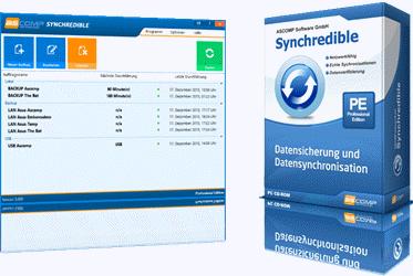 Daten schnell und sicher synchronisieren. Syncredible 7.1
