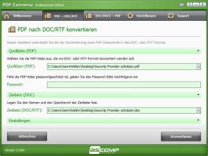 PDF nach Word