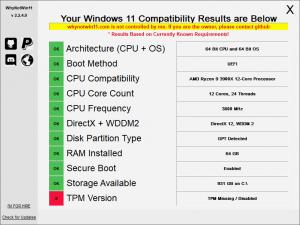 Windows 11-Spezifikationen