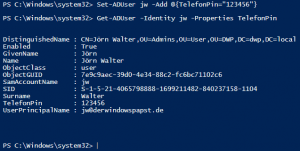 ADD Value to AD Attribute Powershell