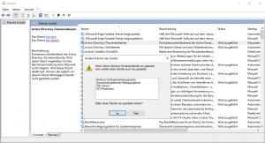 Active Directory Domänendienste neu starten