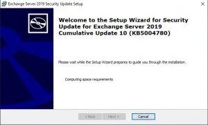 Exchange 2013 2016 2019 Security Update Juli 2021