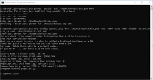 OpenSSL PKI erstellen