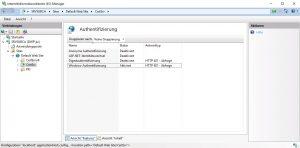Windows-Authentifizierung im IIS