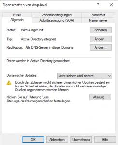 DNS Server absichern
