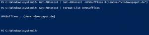Delete Domain UPN