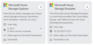 Mit WinGet Azure Tools installieren