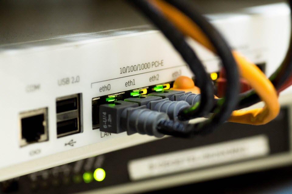 Von WLAN auf Ethernet umsteigen