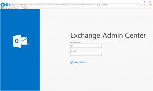 Exchange Backend Zertifikat erneuern