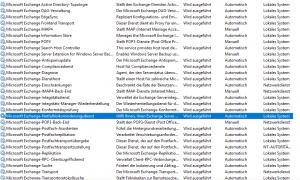 Microsoft Exchange-Notfallrisikominderungsdienst
