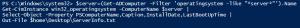 Server Informationen per Remote auslesen