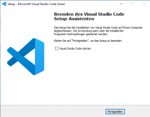 Powershell 7 und Visual Studio Code konfigurieren